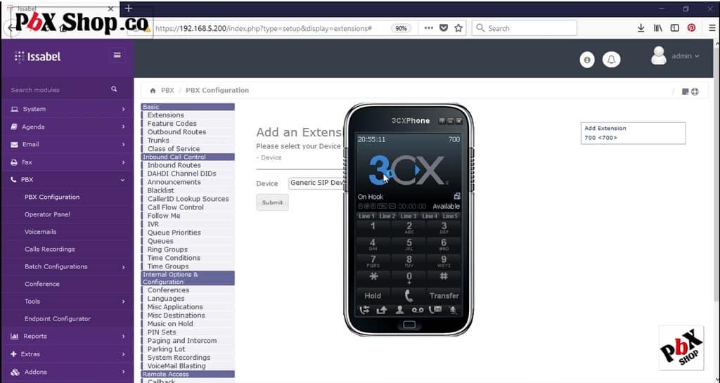 گوشی 3cx