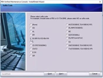 نصب نرم افزار سانترال TDA , دانلود نرم افزار سانترال پاناسونیک
