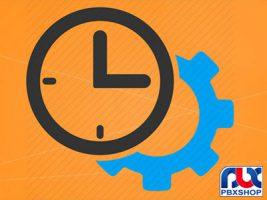 تنظیم ساعت و تاریخ تلفن پاناسونیک 7730