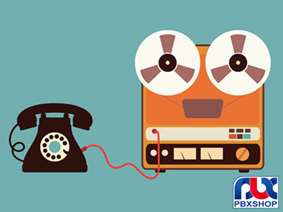 ضبط پیغام تلفن گویا سانترال TDA / ضبط صدای تلفن گویا TDA و TDE