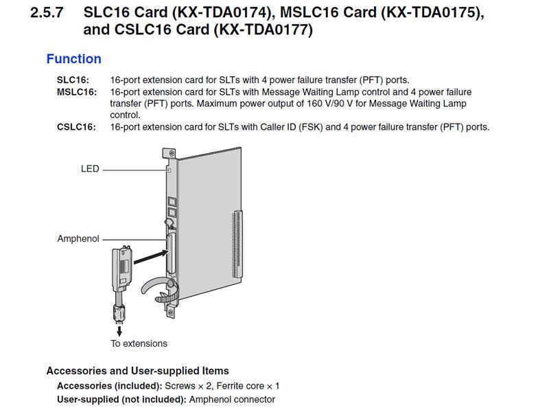 کارت سانترال TDA0177