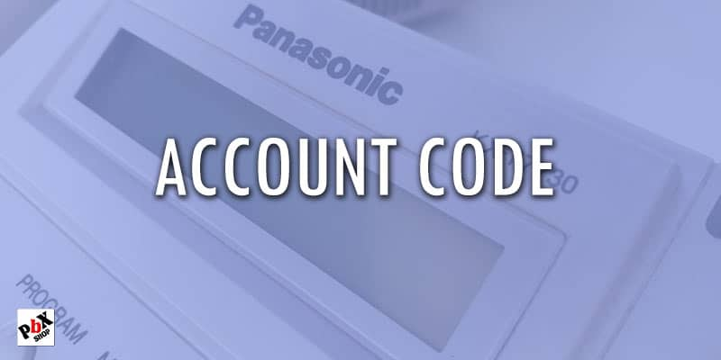 ساخت کد اعتباری در سانترال پاناسونیک 824 / account code