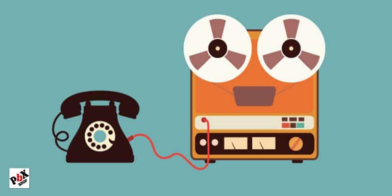ضبط پیغام تلفن گویا سانترال TDA