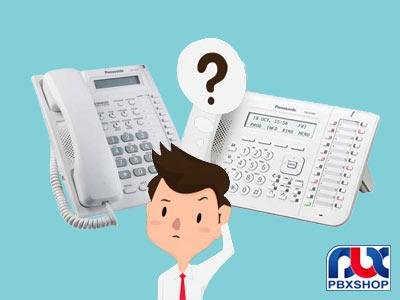 تفاوت تلفن DT543 با تلفن T7665