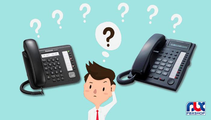 تفاوت تلفن دیجیتال و هایبرید