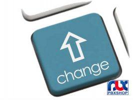 تغییر شماره داخلی سانترال های TDA و TDE