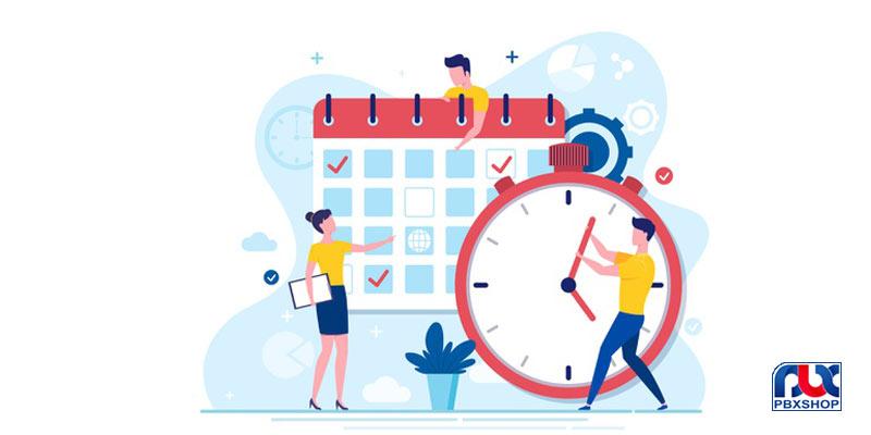 زمانبندی سانترال TDA و TDE