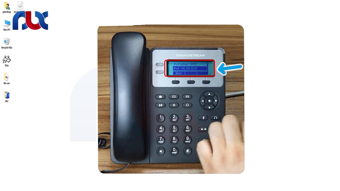 راه اندازی داخلی ها روی  آی پی فون گرند استریم