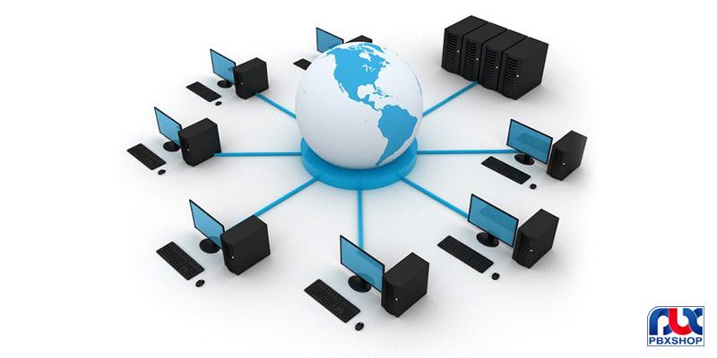 تقسیم بندی شبکه های کامپیوتری