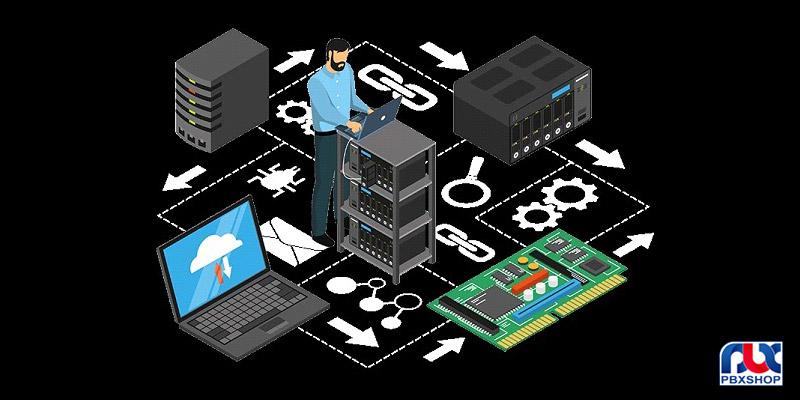 خدمات پسیو شبکه