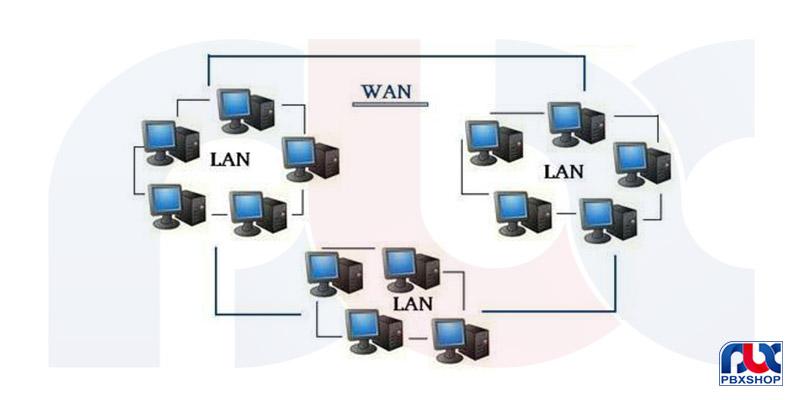 تفاوت های LAN و WAN چیست؟