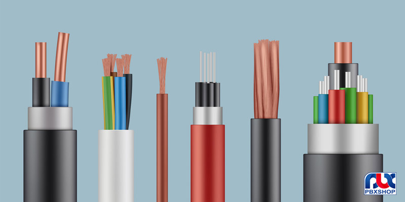 انواع کابل شبکه و کاربردهای آن